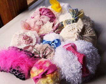BULK Offer Powder Puffs (one dozen) Great for gift baskets, party favors