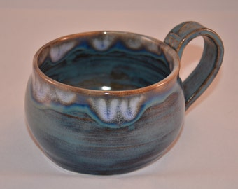 Celtic Mug in Mystic Blue