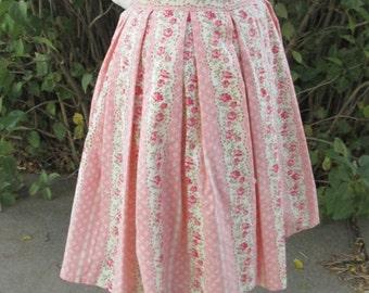 Rose Pink Pleated Lolita Skirt