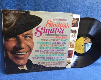 """Vintage, Frank Sinatra - """"Sinatra's Sinatra"""" Vinyl LP Record Album, Rat Pack, Witchcraft, Nancy, Young At Heart, Nelson Riddle, Best Of"""