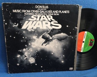"""RARE, Vintage, Don Ellis - """"Star Wars and Survival Music From Other Galaxies and Planets"""" Vinyl LP, Record Album, COOL Sci Fi, Fantasy Music"""