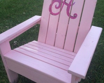 Adirondack Chair, Child size chair, personalized