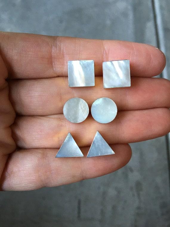 Mother of Pearl Boho Earrings