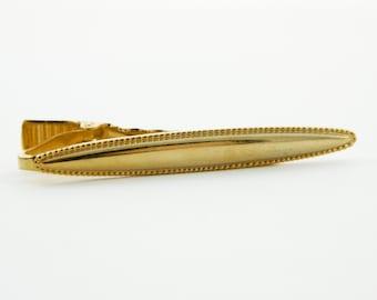 Oxford Gold Tie Clip - TT116
