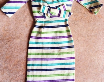 Vintage Hand-Sewn 1960's Barbie Doll Outfit