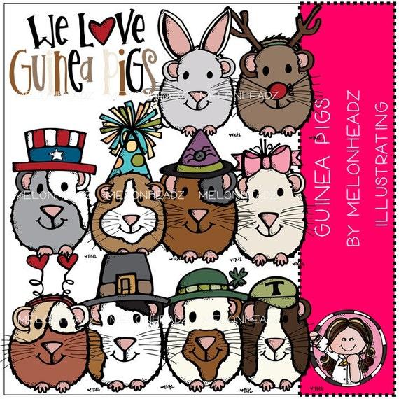 Guinea Pigs clip art