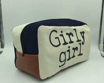 girly girl dopp kit