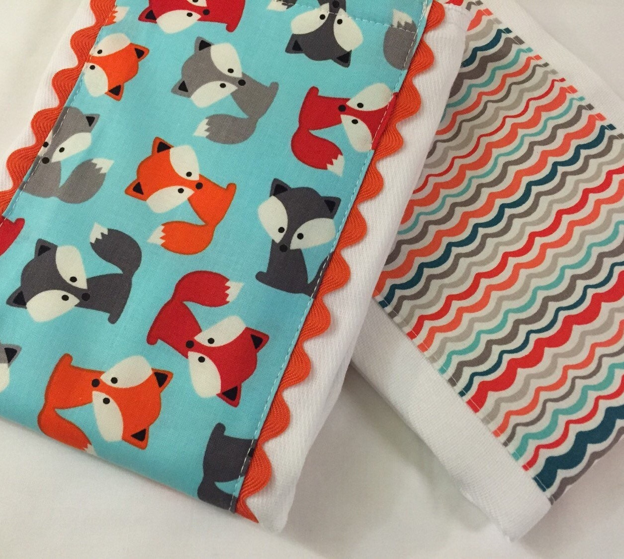 Diaper Burp Cloths Baby Burp Cloths Set of Two by