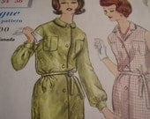 Vintage 1960's Vogue 5240 Dress Sewing Pattern, Size 14, Bust 34