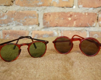 Vintage Tortoise Shell Sunglasses - Two Styles to Choose From