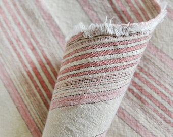 Pink Stripes Cotton Fabric - By the Yard 68267