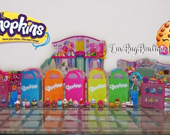 Shopkins Party Favor Small Treat Bags -Shopkins Treat Bags (5+)