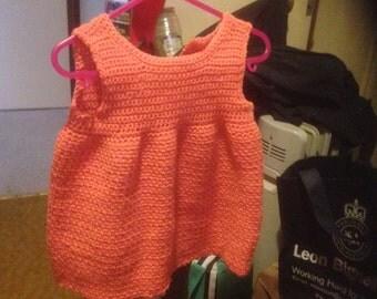 Orange Sundress for baby