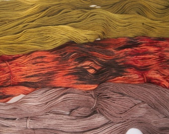 Hand Dyed Yarn 'Lights of Marrakesk' - Hand dyed Sock Yarn Wool Yarn 4 ply