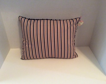 Black And Gold Stripe Pillow Cover