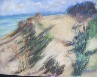 an original pastel painting