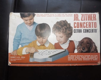 Jr. Zither Concerto With Instructions in English and Italian - Jr. Cetra Concerto con istruzioni in inglese e in italiano