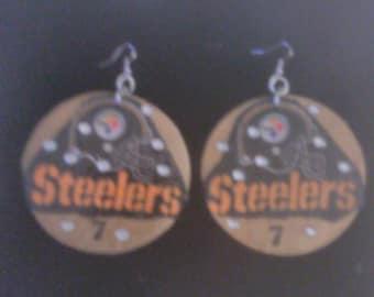 Clearance Steelers earrings