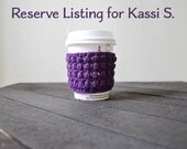 Reserve Listing for Kassi S.
