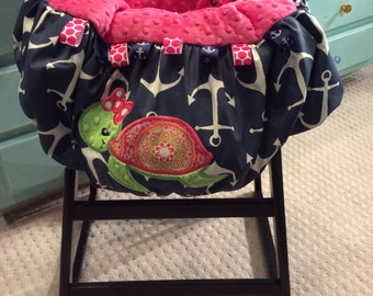 Turtle Shopping Cart Cover