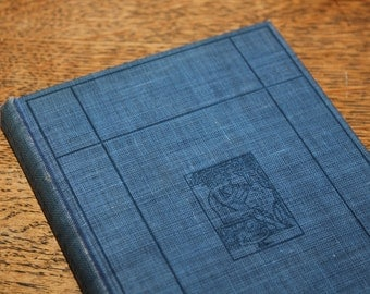 Sentences and Thinking by Norman Foerster and J. M. Steadman, Jr. 1919, Antique Book, Vintage Book, Blue Book, Antique Text Book