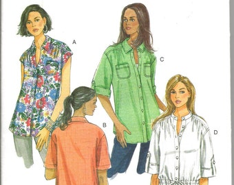 Butterick 5611 uncut size 10 - 18 womans blouse