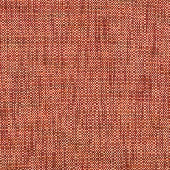 Red Orange Tweed Upholstery Fabric Red Woven Textured