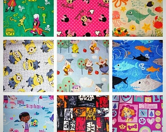2 reusable snack bags, pick your pattern, food pouch, reusable goods, eco friendly, snack bags, sandwich bag