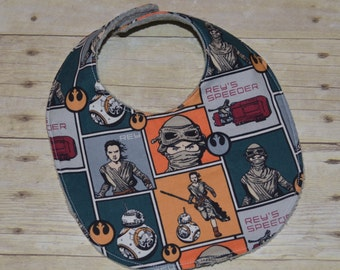 Star Wars Episode VII Baby Bib