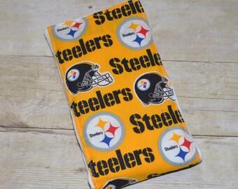 Pittsburgh Steelers Baby Burp Cloth