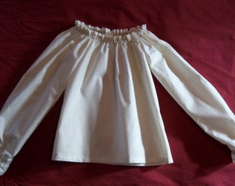 Child's Size Peasant Blouse Made to Order
