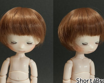 4inch Doll Wig (short/long)