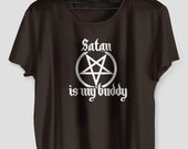 Satan Is My Buddy Tshirt