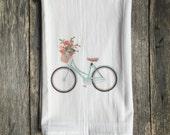Aqua Bike Tea Towel