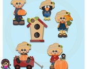 2016 Happy Fall  Clip art  Clipart  Graphics  Commercial Use