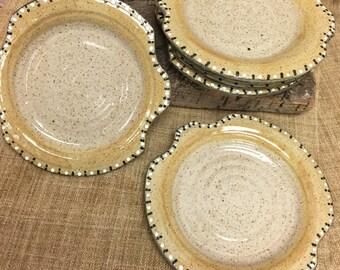 Set of Six Small Plates