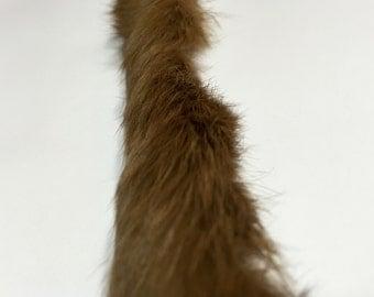 Rabbit Fur, Real Brown Rabbit Fur, Fur Trim, Dark Tan Fur, Fur Trimming, Beautiful Fur, Soft Fur, Brown Real Fur, Genuine Fur
