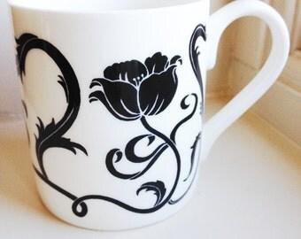 Retro China Mug