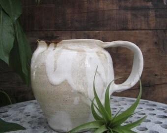 Vintage Ceramic Studio Clay Pitcher