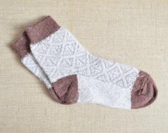 Knitted Wool Women's Winter Angora Socks New HIGH QUALITY