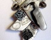 Polymer Clay Necklace 2416j