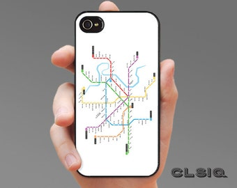 Ho Chi Minh Vietnam Metro Map Case for iPhone 6/6S, 6+/6S+, 5/5S, 5C, 4/4S, iPod Gen 5, Samsung Galaxy S6, Galaxy S5, Galaxy S4, Galaxy S3