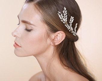 Set of 3, Wheat Bridal Hair Pins, Style #558