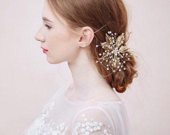 Bridal Hair Clip, Wedding Headpiece, Style #583