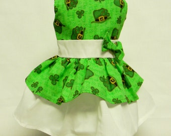 St Patricks Tiered Dress For 18 Inch Dolls Like The American Girl
