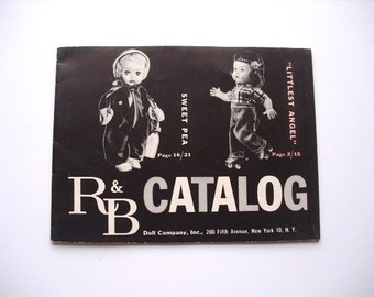 R & B Catalog, Doll Company, Inc., New York, NY 1955, printed in USA