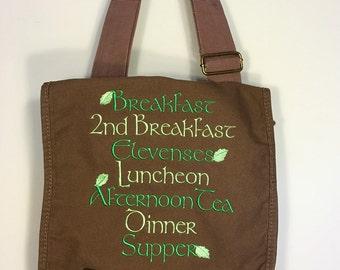 Hobbit Second Breakfast messenger bag