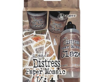 TIM HOLTZ -PAPER MOSAICs -  Distress Kit - Brand new and in stock !!