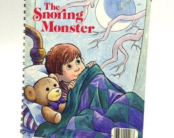 Little Golden Book Bound Spiral Journal Diary Notebook The Snoring Monster