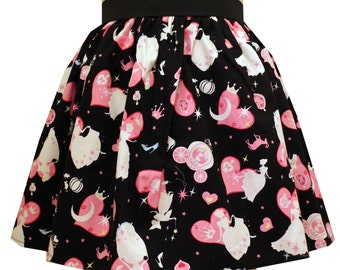 Cinderella Black Full Skirt